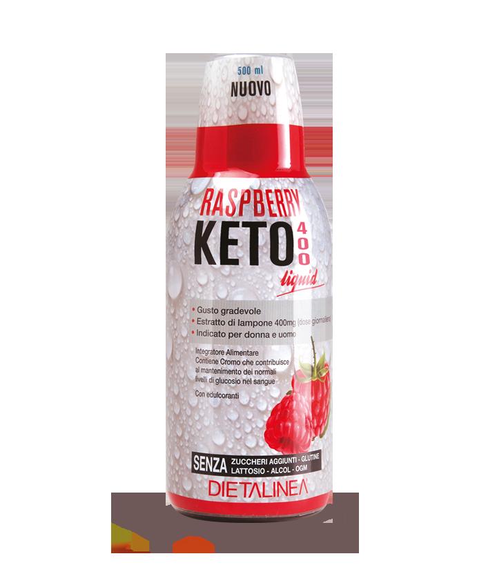 Raspberry Keto 400 Liquid