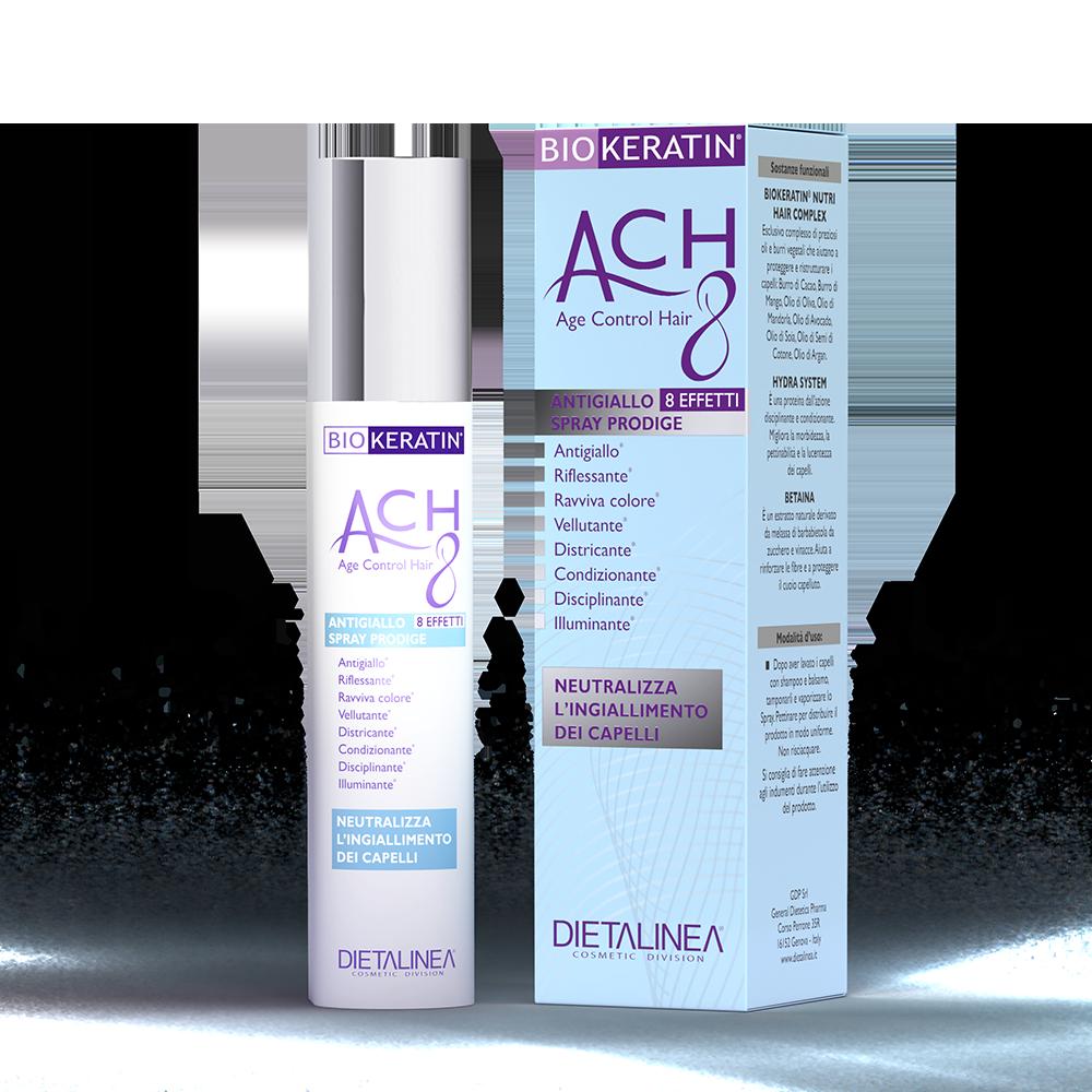 Biokeratin ACH8 Spray Antigiallo